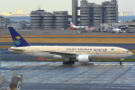 ハンバーグ師匠さんが、羽田空港で撮影したサウジアラビア航空 777-268/ERの航空フォト(写真)