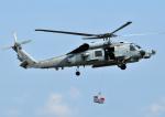 チャーリーマイクさんが、厚木飛行場で撮影したアメリカ海軍 MH-60R Seahawk (S-70B)の航空フォト(写真)
