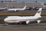 mikizouさんが、羽田空港で撮影したドバイ・ロイヤル・エア・ウィング 747-422の航空フォト(写真)