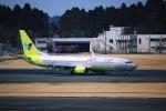 DVDさんが、成田国際空港で撮影したジンエアー 737-8SHの航空フォト(写真)