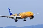 jinopekoさんが、広島空港で撮影した全日空 777-281/ERの航空フォト(写真)