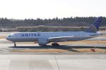 神宮寺ももさんが、成田国際空港で撮影したユナイテッド航空 777-224/ERの航空フォト(写真)