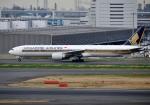 mojioさんが、羽田空港で撮影したシンガポール航空 777-312/ERの航空フォト(写真)