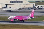 かみじょー。さんが、那覇空港で撮影したピーチ A320-214の航空フォト(写真)