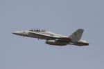 とらとらさんが、厚木飛行場で撮影したアメリカ海兵隊 F/A-18D Hornetの航空フォト(写真)