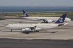 jjieさんが、羽田空港で撮影したサウジアラビア王国政府 A340-213Xの航空フォト(写真)