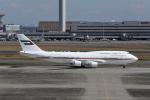 じゃまちゃんさんが、羽田空港で撮影したドバイ・ロイヤル・エア・ウィング 747-422の航空フォト(写真)
