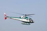 ヘリオスさんが、東京ヘリポートで撮影したアカギヘリコプター AS350B2 Ecureuilの航空フォト(写真)
