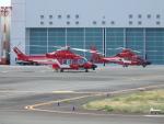 330 Bananaさんが、東京ヘリポートで撮影した三井物産エアロスペース AW139の航空フォト(写真)