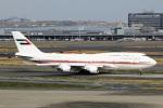 スポット110さんが、羽田空港で撮影したドバイ・ロイヤル・エア・ウィング 747-422の航空フォト(写真)