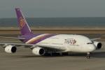 なぞたびさんが、中部国際空港で撮影したタイ国際航空 A380-841の航空フォト(写真)