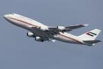 多摩川崎2Kさんが、羽田空港で撮影したドバイ・ロイヤル・エア・ウィング 747-422の航空フォト(写真)