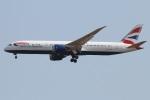たみぃさんが、成田国際空港で撮影したブリティッシュ・エアウェイズ 787-9の航空フォト(写真)