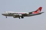 たみぃさんが、成田国際空港で撮影したカーゴルクス・イタリア 747-4R7F/SCDの航空フォト(写真)