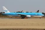 たみぃさんが、成田国際空港で撮影したKLMオランダ航空 777-206/ERの航空フォト(写真)