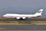 Timothyさんが、羽田空港で撮影したドバイ・ロイヤル・エア・ウィング 747-422の航空フォト(写真)