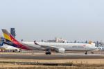 Y-Kenzoさんが、成田国際空港で撮影したアシアナ航空 A330-323Xの航空フォト(写真)