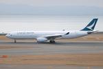きんめいさんが、中部国際空港で撮影したキャセイパシフィック航空 A330-342の航空フォト(写真)