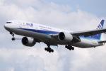 tyusonさんが、成田国際空港で撮影した全日空 777-381/ERの航空フォト(写真)