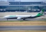 mojioさんが、羽田空港で撮影したエバー航空 A330-302の航空フォト(写真)