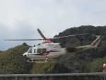 kamonhasiさんが、静岡ヘリポートで撮影した四国航空 412EPの航空フォト(写真)