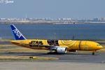 吉田高士さんが、羽田空港で撮影した全日空 777-281/ERの航空フォト(写真)