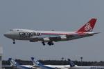 木人さんが、成田国際空港で撮影したカーゴルクス・イタリア 747-4R7F/SCDの航空フォト(写真)