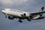 tyusonさんが、成田国際空港で撮影したニュージーランド航空 777-219/ERの航空フォト(写真)