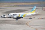 J-birdさんが、羽田空港で撮影したAIR DO 737-781の航空フォト(写真)