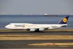 NRT_roseさんが、羽田空港で撮影したルフトハンザドイツ航空 747-830の航空フォト(写真)