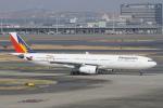 pringlesさんが、羽田空港で撮影したフィリピン航空 A330-343Xの航空フォト(写真)