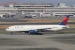 pringlesさんが、羽田空港で撮影したデルタ航空 777-232/ERの航空フォト(写真)