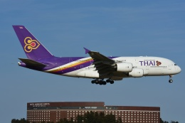 よしポンさんが、成田国際空港で撮影したタイ国際航空 A380-841の航空フォト(写真)