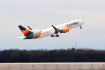 まいけるさんが、ミュンヘン・フランツヨーゼフシュトラウス空港で撮影したコンドル 767-3Q8/ERの航空フォト(写真)