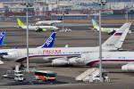 ☆Kou☆さんが、羽田空港で撮影したロシア航空 Il-96-300の航空フォト(写真)