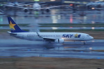pringlesさんが、羽田空港で撮影したスカイマーク 737-82Yの航空フォト(写真)