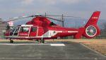 航空見聞録さんが、京都市消防ヘリポートで撮影した名古屋市消防航空隊 SA365N1 Dauphin 2の航空フォト(写真)