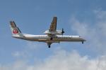 ワイエスさんが、鹿児島空港で撮影した日本エアコミューター DHC-8-402Q Dash 8の航空フォト(写真)