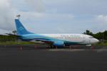 とりしちさんが、ポンペイ国際空港で撮影したナウル・エアラインズ 737-36Nの航空フォト(写真)
