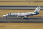 PASSENGERさんが、伊丹空港で撮影した朝日新聞社 560 Citation Encoreの航空フォト(写真)