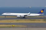 PASSENGERさんが、羽田空港で撮影したルフトハンザドイツ航空 A340-642Xの航空フォト(写真)