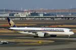 Wasawasa-isaoさんが、羽田空港で撮影したシンガポール航空 A350-941XWBの航空フォト(写真)