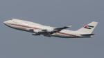 shootingstarさんが、羽田空港で撮影したドバイ・ロイヤル・エア・ウィング 747-422の航空フォト(写真)