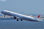 吉田高士さんが、羽田空港で撮影した中国国際航空 A321-232の航空フォト(写真)
