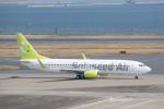 J-birdさんが、羽田空港で撮影したソラシド エア 737-86Nの航空フォト(写真)