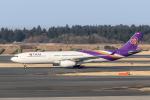 Y-Kenzoさんが、成田国際空港で撮影したタイ国際航空 A330-343Xの航空フォト(写真)