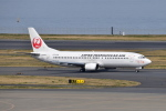 Timothyさんが、羽田空港で撮影した日本トランスオーシャン航空 737-446の航空フォト(写真)