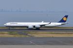 Timothyさんが、羽田空港で撮影したルフトハンザドイツ航空 A340-642の航空フォト(写真)