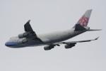 いっとくさんが、関西国際空港で撮影したチャイナエアライン 747-409F/SCDの航空フォト(写真)