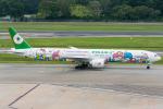 Tomo-Papaさんが、シンガポール・チャンギ国際空港で撮影したエバー航空 777-36N/ERの航空フォト(写真)